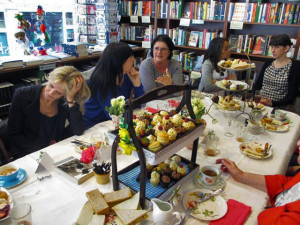 High Tea at the English Bookshop