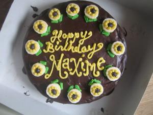 Chocolate & Bananna Cake