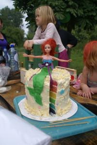Mermaid Rainbow Cake